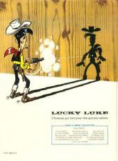 Verso de Lucky Luke -46- Le fil qui chante