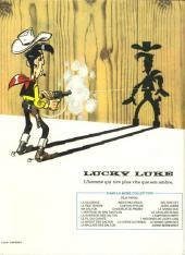 Verso de Lucky Luke -49- La corde du pendu et autres histoires