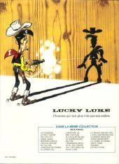 Verso de Lucky Luke -53- Le Daily Star