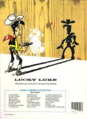 Verso de Lucky Luke -54- La fiancée de Lucky Luke