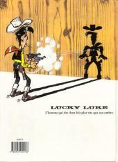 Verso de Lucky Luke -61- Chasse aux fantômes