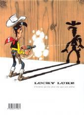 Verso de Lucky Luke -70- La légende de l'Ouest