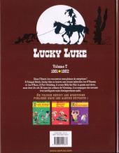 Verso de Lucky Luke (Intégrale Dupuis/Dargaud) -7b09- Volume 7 - (1961-1962)