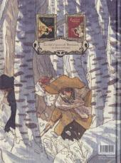Verso de Le maître de Ballantrae -2- Livre second