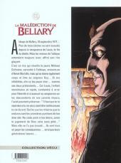 Verso de La malédiction de Bellary -2- La dague et le poignard