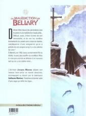 Verso de La malédiction de Bellary -3- Le bâtard et la colombe