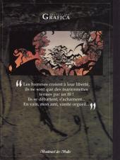 Verso de Le roman de Malemort -5TL- ... S'envolent les chimères