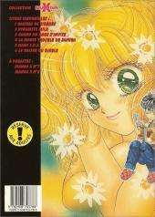 Verso de Manga X -6- Le baiser du diable