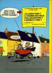Verso de Marc Lebut et son voisin -4- Voisin et Ford T