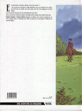 Verso de Marie Tempête -1- La fille de Ker-Avel