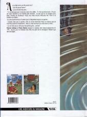 Verso de Marie Tempête -2- La fontaine aux faées