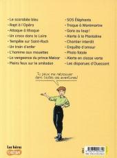 Verso de Marion Duval -18- Les disparues d'Ouessant