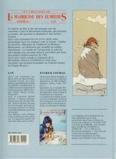 Verso de La marquise des Lumières -1- La vierge et l'enfant