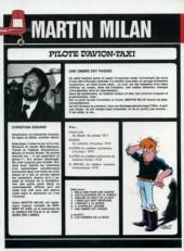 Verso de Martin Milan (2e Série) -7- Une ombre est passée