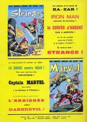 Verso de Marvel -10- Marvel 10