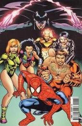 Verso de Marvel Crossover -6- Spider-Man/Gen13 - Team X/Team 7