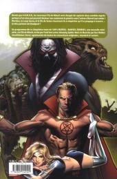 Verso de Marvel Zombies -5- Les fils de minuit