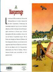 Verso de Masquerouge -8- Les mauvais sentiments