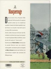 Verso de Masquerouge -9- La veuve noire