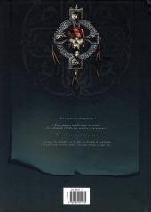 Verso de Hannibal Meriadec et les larmes d'Odin -2- Le manuscrit de Karlsen