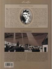 Verso de La métamorphose (Corbeyran/Horne) - La Métamorphose, de Franz Kafka