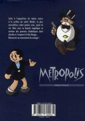 Verso de Metropolis (Tezuka) - Metropolis