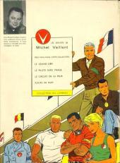 Verso de Michel Vaillant -5- Le 13 est au départ