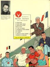 Verso de Michel Vaillant -10- L'honneur du Samouraï