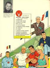 Verso de Michel Vaillant -14- Mach 1 pour Steve Warson