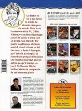 Verso de Michel Vaillant (Dossiers) -10- Gilles Villeneuve - Je ne serai pas long...