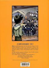 Verso de Un moNde idéal -5- Les contes du villageois - Cycle 1 - La porte