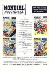 Verso de Mondial aventures -12- La case de l'Oncle Tom