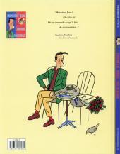Verso de Monsieur Jean -1- Monsieur Jean, l'amour, la concierge.
