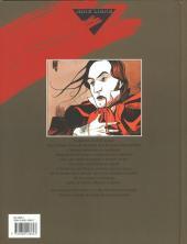 Verso de Monsieur Noir -INT- Monsieur Noir - Intégrale