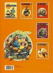 Verso de Les motards -5- Jeux de mots, tôt... jeux de mots, tard...