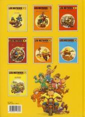 Verso de Les motards -7- Les chevaliers moto toniques