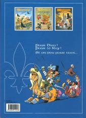 Verso de Les mousquetaires -74- Le fou du Roy