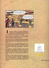 Verso de Histoires des Villes (Collection) - Nancy - Cœur de Lorraine