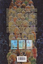 Verso de New York Trilogie -1- La Ville