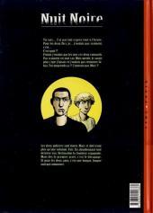 Verso de Nuit Noire -1- Fuite