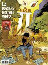 Verso de Les dossiers d'Olivier Varèse -1- La colombe de la place rouge