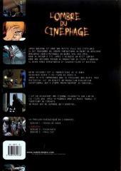 Verso de L'ombre du cinéphage -1- Bobine 1 - Fondu au noir