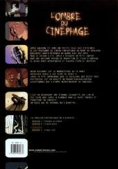 Verso de L'ombre du cinéphage -2- Bobine 2 - Flashback