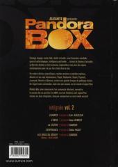 Verso de Pandora Box -INT2- Volume 2 (T05 à T08)