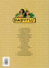 Verso de Papyrus -11SL- Le Pharaon maudit