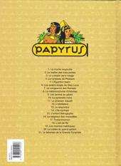 Verso de Papyrus -21- Le talisman de la grande pyramide