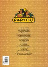 Verso de Papyrus -22- La prisonnière de Sekhmet