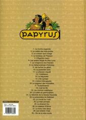 Verso de Papyrus -29- L'île de la reine morte