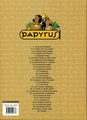 Verso de Papyrus -30- L'oracle