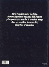 Verso de Le parfum de l'invisible - Tome 1